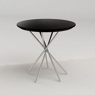 休闲桌子3d模型
