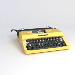 打字机3d模型