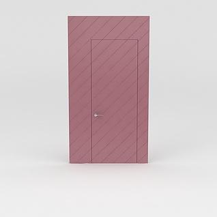 门3d模型