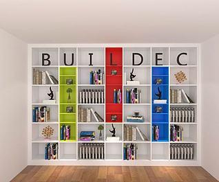 时尚书柜3d模型