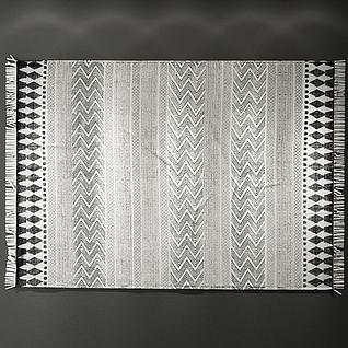 北欧地毯3d模型