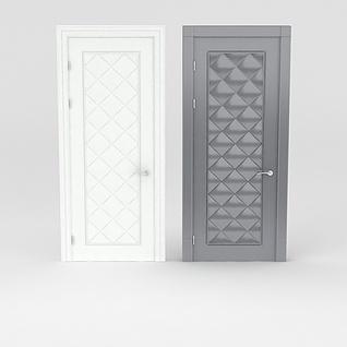 精品室内门3d模型
