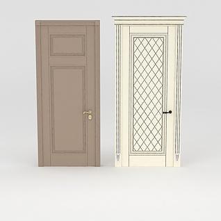 室内门3d模型