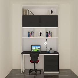 书桌柜模型