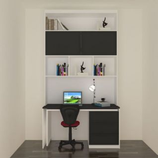 书桌柜3d模型
