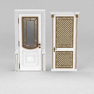 厨房门3d模型