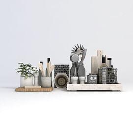 厨房用品模型
