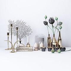 花瓶装饰品模型3d模型