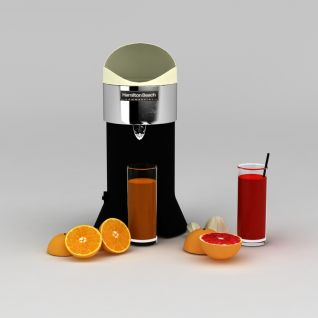 榨汁机3d模型