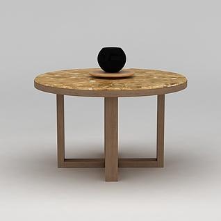 圆桌3d模型