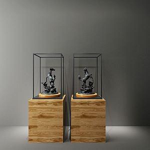 铁艺马雕塑模型