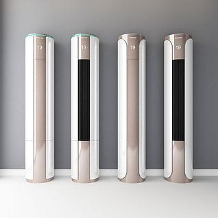 立式空调3d模型