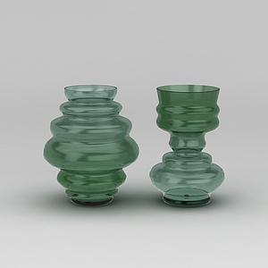 玻璃器皿模型