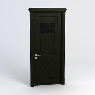 房门3d模型