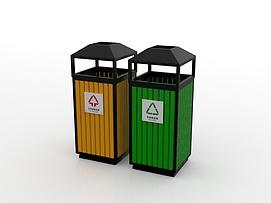 垃圾箱模型