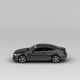 奥迪汽车3d模型