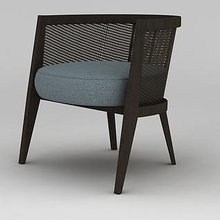 休闲单椅3d模型3d模型