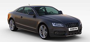 3d奧迪<font class='myIsRed'>汽車</font>模型