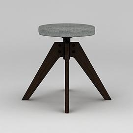 工业风凳子模型