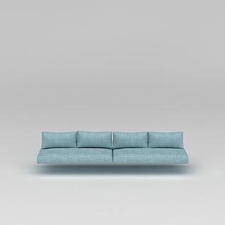 现代懒人沙发3d模型3d模型