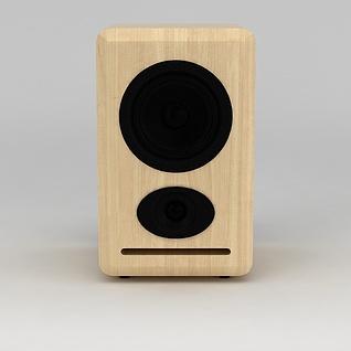 音响3d模型
