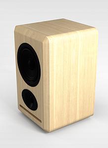 音响模型3d模型