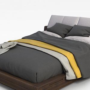 榻榻米床模型