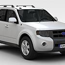 福特翼虎2012款汽车模型
