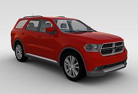 道奇_Durango_2011款3d模型