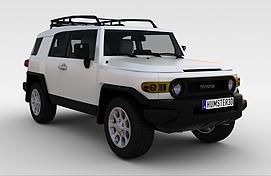 丰田陆地巡洋舰2011款<font class='myIsRed'>汽车</font>3d模型