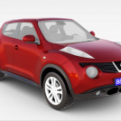 日产Juke汽车模型