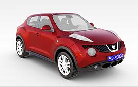 日产Juke<font class='myIsRed'>汽车</font>3d模型