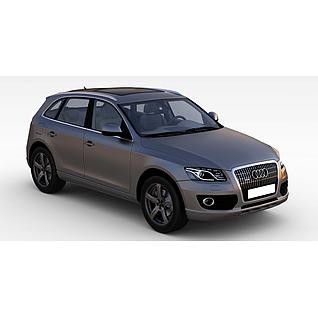 奥迪Q5汽车3d模型