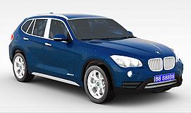 宝马X1_2013款<font class='myIsRed'>汽车</font>3d模型