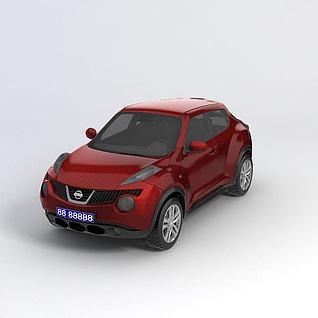 日产Juke汽车3d模型