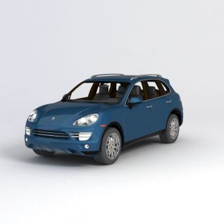 保时捷卡宴2010款汽车3d模型3d模型
