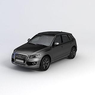 奥迪Q5汽车3d模型3d模型