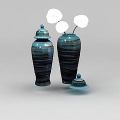 陶瓷花瓶模型3d模型