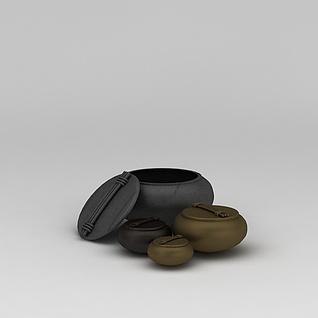 陶艺器皿3d模型