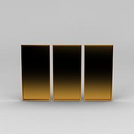 装饰画框3d模型
