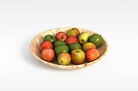 客厅水果盘3D模型