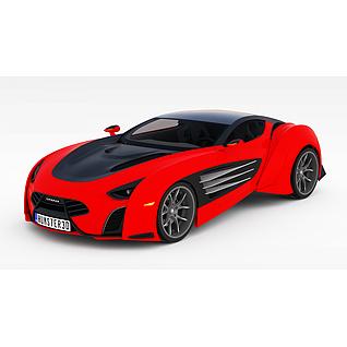 LarakiEpitome超跑汽车3d模型