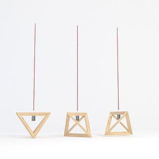 北欧饭厅吊灯3d模型