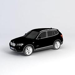 宝马X3_2012款汽车模型3d模型