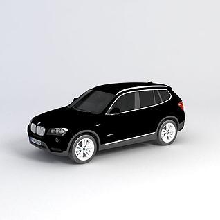 宝马X3_2012款汽车3d模型