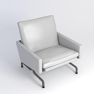 现代沙发椅3d模型