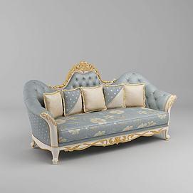 双人沙发模型