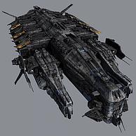 战斗飞船3D模型3d模型