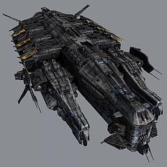 战斗飞船模型3d模型