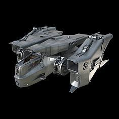 3D飞船战机3D模型3d模型